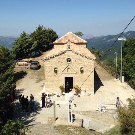 Pietrapertosa, Italie : Cappella di San Cataldo