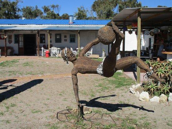 Yzerfontein, Νότια Αφρική: one of the amazing 'scuptures'