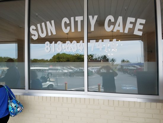 Sun City Center, Floride : The entrance