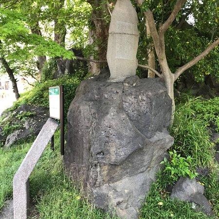 愛染院の溶岩塚