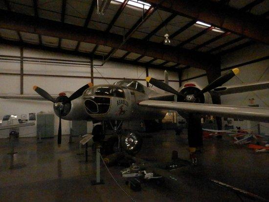 Williams, AZ: B-25 Mitchell medium bomber, less seldom to see one, always a pleasure