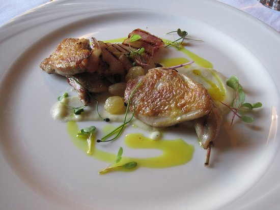 Straffan, Ireland: One of the items from the 5 course tasting menu