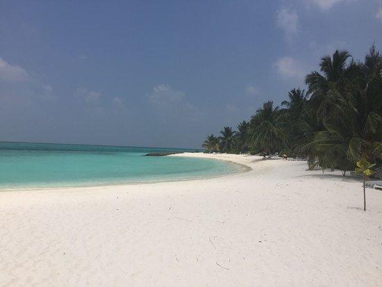 Ziyaaraifushi Island: Plage au nord de l'île