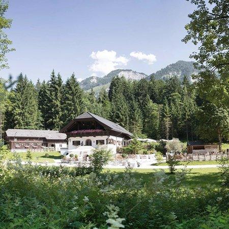 Grossgmain, النمسا: Latschenwirt