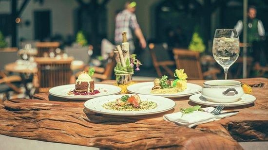 Grossgmain, النمسا: Gerichte