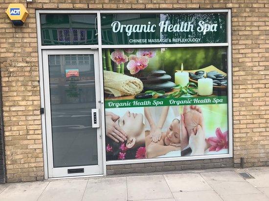 Organic health spa