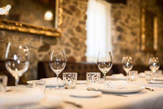 Cassa de la Selva, Spagna: Menjador planta superior Can Peret. Ideal per a grups, reunions, presentacions, reservats