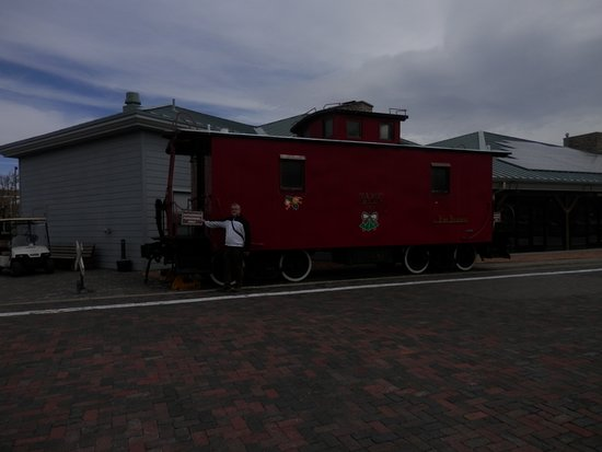 Williams, AZ: A caboose is one of those characteristic American railroad items.