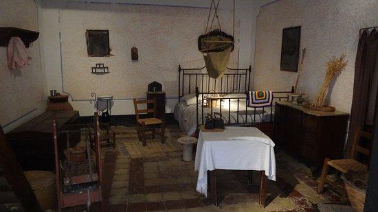 Grotta Mangiapane: Camera da letto
