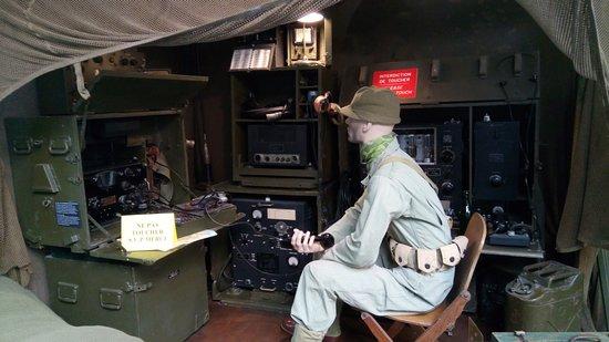 Museum of the Battle of Normandy: Une scene reconstituée