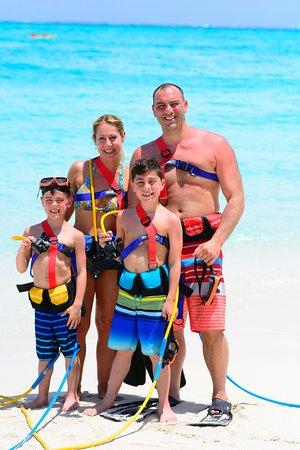 SNUBA Turks and Caicos: Right before our SNUBA adventure