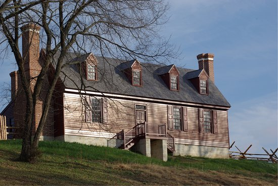 Fredericksburg, VA: Washington House at Ferry Farm