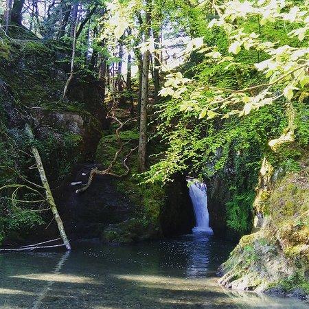 Boncath, UK: the secret waterfall