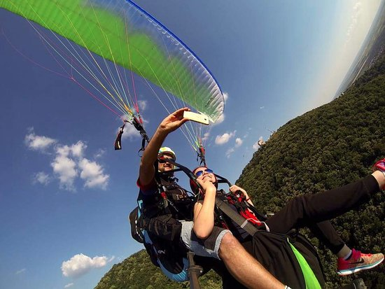 Paragliding Tandem Flight in Vrsac, Serbia