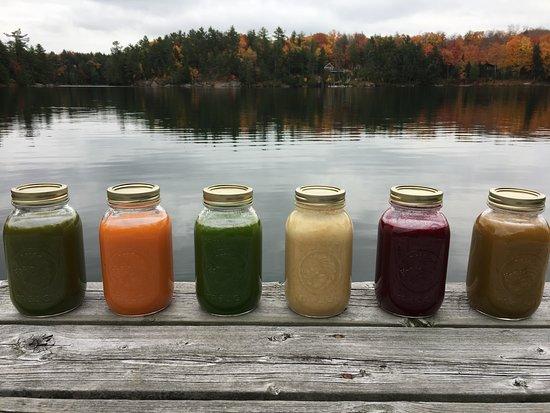 Rosseau, Kanada: Juice Cleanses!