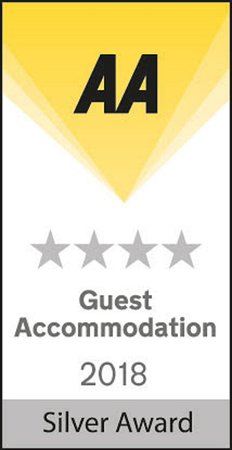 Kingsholm Hotel: AA 4* Silver Award 2018