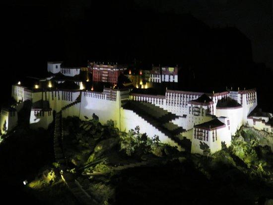 Feldbach, Austria: Ausstellungsstück beleuchtet