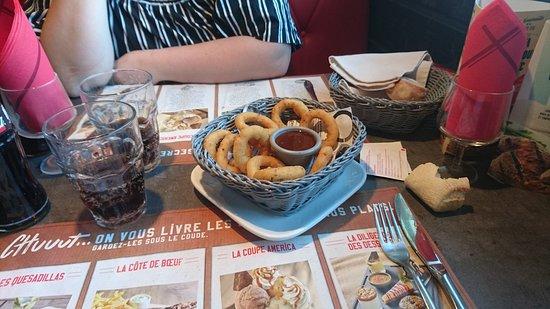 Buffalo Grill: Onion rings