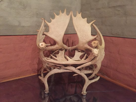 The Castle Of The Livonian Order: Elk Antler Chair