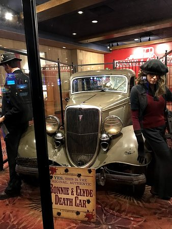 Whiskey Pete's Casino and Hotel: The original Bonnie and Clyde death car
