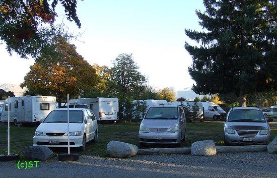 Twizel, New Zealand: Camper van site