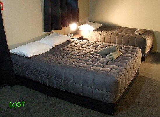 Twizel, New Zealand: Double and Single bed