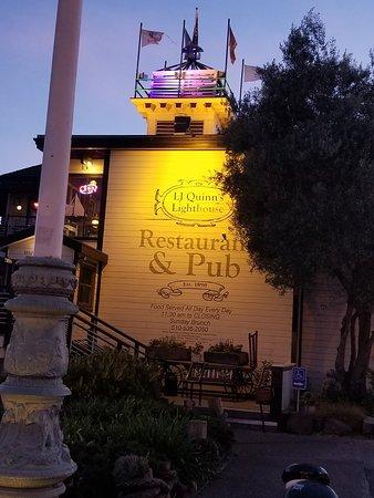 Quinn's Lighthouse Restaurant and Pub: 20180510_202257_large.jpg