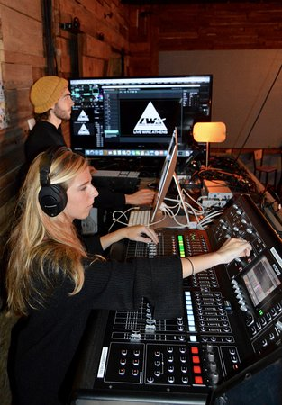 Live Wire Athens: Professional Audio/Visual Production is available at the venue or any off-site location.