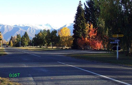 Twizel Walkway: Entry from Glen Lyon Road