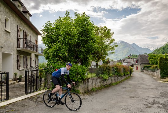 Saint-Savin, Francja: Guest heading off for the day