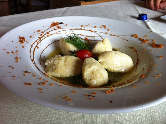 Cressogno, อิตาลี: Gnocchi