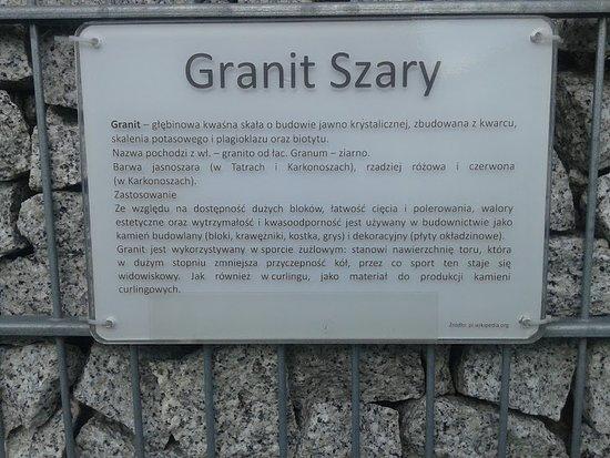 Nidzica, โปแลนด์: Ciekawe opisy poszczególnych kamieni ...