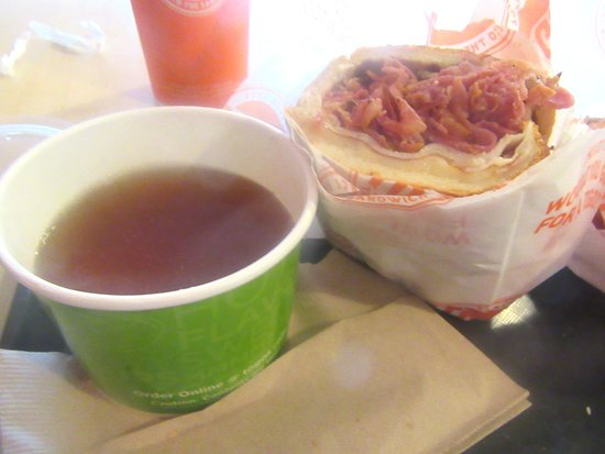 Triple Dip Sandwich, Togos, Milpitas, CA