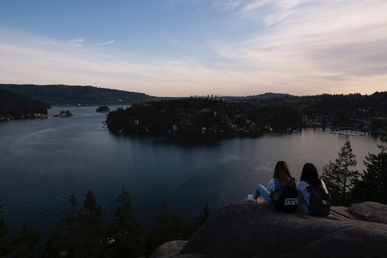 Quarry Rock Hike View Of Deep Cove