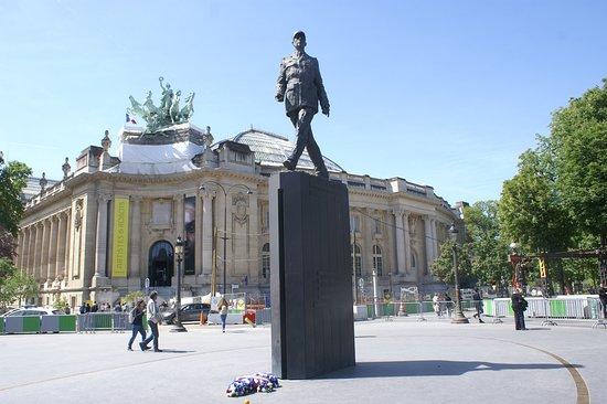La Statue du General de Gaulle