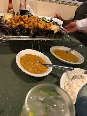 Restaurante Pedrinni de Frutos Do Mar: acompanhamentos