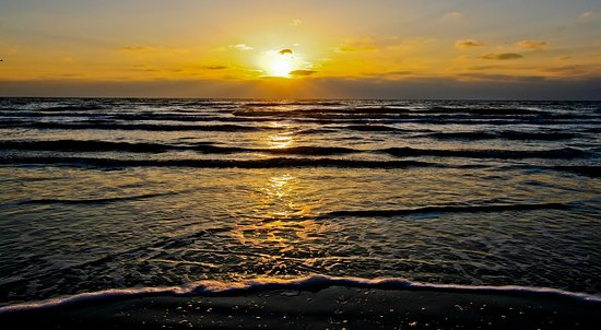 Sunrise at Surfside Beach
