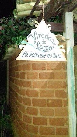 Restaurante Virada's do Largo: Entrada
