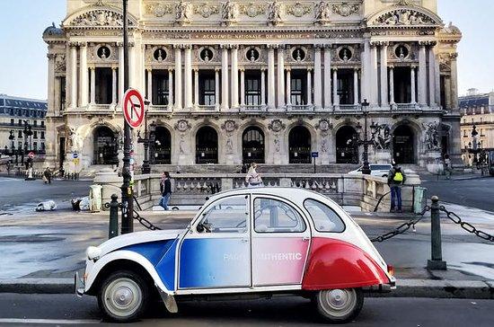 Excursion complète à Paris en 2CV