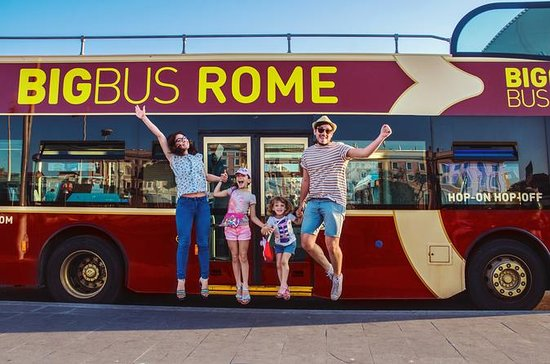 Rom Hop-On Hop-Off Bus Tour och Retur ...