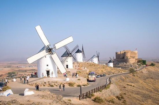 Milling inside 'Rucio' Windmill
