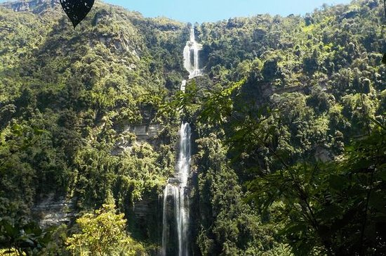 La Chorreraの自然の滝への訪問