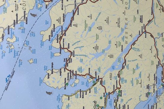 Costa norte 500, Inverness para...