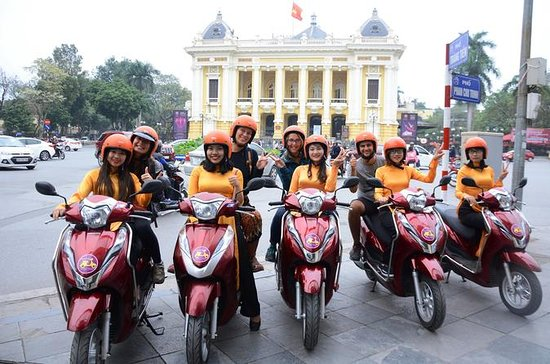 Hanoi city insight Motorbike Tour