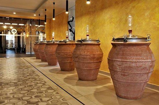 Dégustation de vin de Pompéi