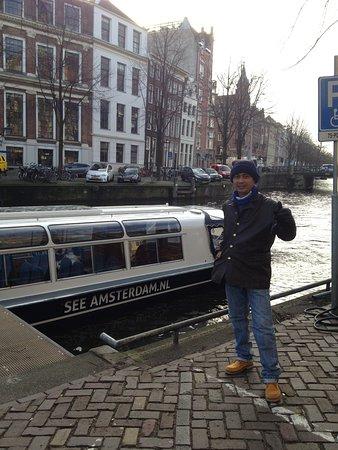 Emperor's Canal (Keizersgracht): wisata air Amsterdam