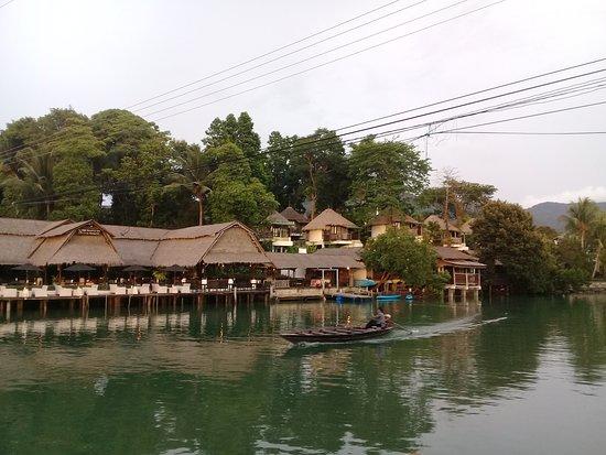 Baan Rim Nam: From the decking