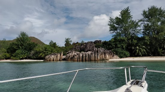 Amitie, Seychelles: Arriving at Curieuse Island