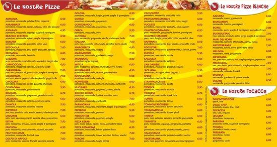 Osasco, إيطاليا: Le noistre Pizze