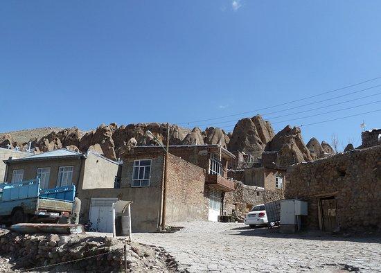 Kandovan, Iran: Alt und neu